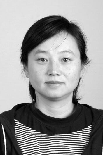 Den kinesiske forskaren He Min. (Foto: Mauricio Pavez)