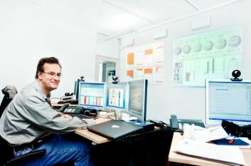Forskningsleiar Eric Cayeux har stor tru på dataverktøyet DrillScene. Fleire forsøk på norsk sokkel har gitt gode resultat. (Foto: Elisabeth Tønnessen)