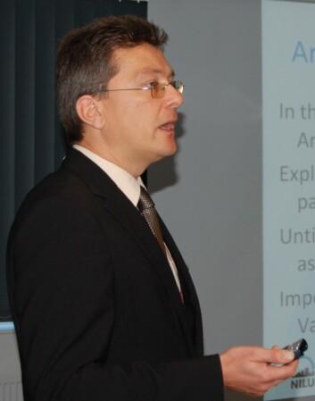 Andreas Stohl vil ha mindre, ikke mer aktivitet i Arktis. (Foto: NILU)