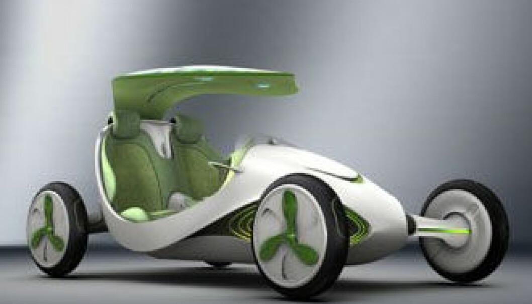 Design ala SAIC Yez vil kanskje være slik bilene vil se ut om noen år. (Foto: SAIC)