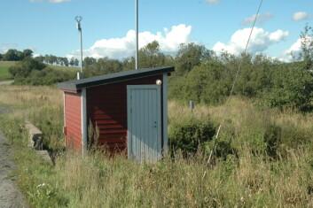 """""""Målestasjonen ved Skuterud i Ås inngår i JOVA-programmet."""""""