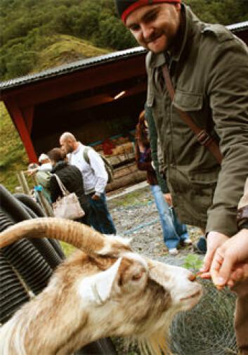 Studenter fra Det gastronomiske universitetet i Italia besøkte Vestlandet i fjor høst. (Foto: Student)