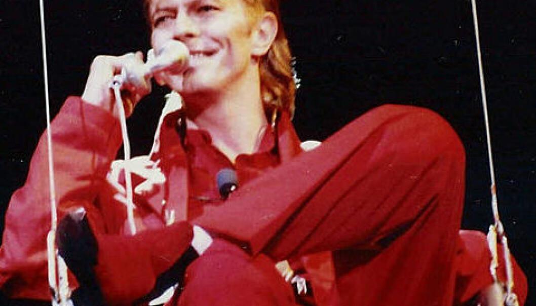 David Bowie på Rock am Ring i 1987. (Foto:Wikimedia Commons, se lisens her.)
