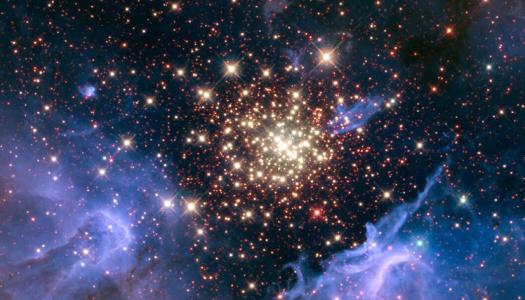 Supersymmetrien fremdeles skjev