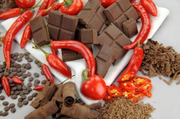 Ikke all indiansk mat ble regnet som skadelig for europeerne. Sjokolade (kakao) og chili ble raskt supplement til europeisk kosthold og chiliplanten ble hentet til Spania og dyrket der. (Illustrasjonsfoto: iStockphoto)