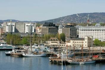 Attraktive Oslo. (Foto: www.colourbox.no)