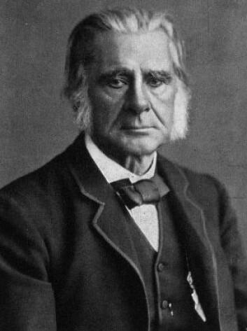 """""""Thomas Huxley blir av mange sett på som en av tidenes beste vitenskaplige kommunikatører. (Illustrasjon: Wikimedia Commons)"""""""