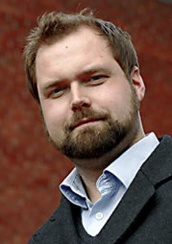 Anders Granås Kjøstvedt. (Foto: Annica Thomsson)