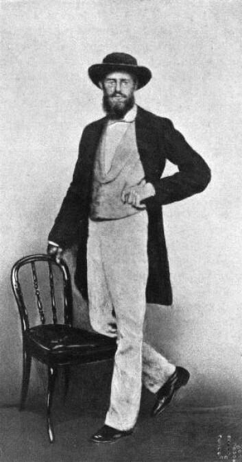 """""""Alfred Wallace var den eneste av de fire som ikke hadde noen universitetsutdannelse, men etter å ha observert dyre- og planteliv i en årrekke kom han på egenhånd frem til mange av de samme konklusjonene som Darwin. (Illustrasjon: Wikimedia Commons)"""""""