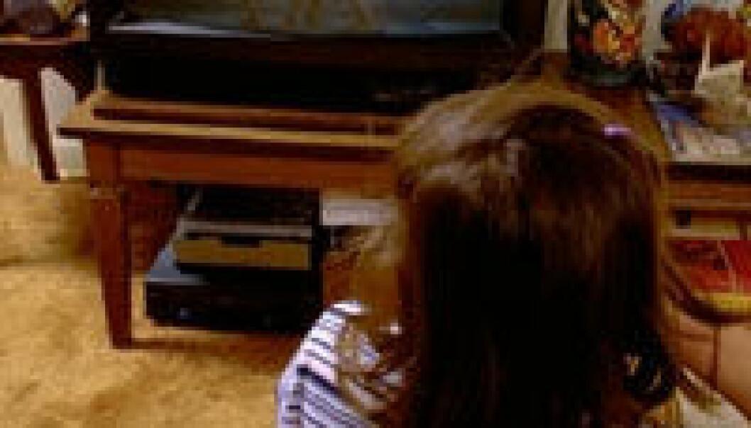 Tidligere pubertet med TV?