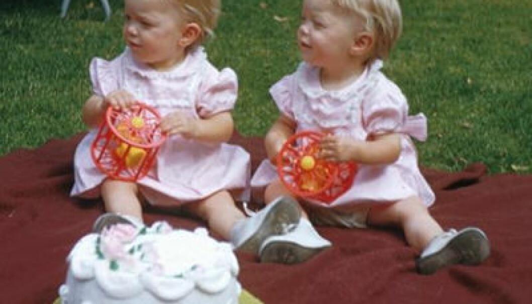 """""""Ikke lik skjebne for tvillinger."""""""
