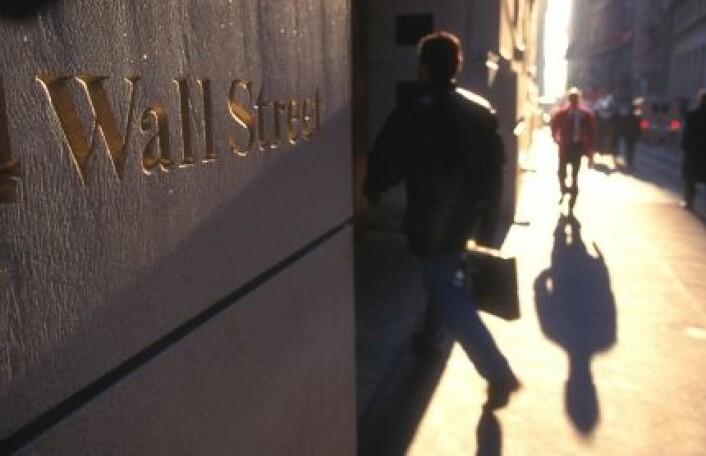 Finanskrisa avslørte at store banker på Wall Street hadde tatt for stor risiko. (Foto: iStockphoto)