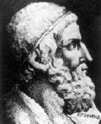 """""""Den store matematiker Arkimedes kan ha hatt forgjengere over 1000 år tilbake i tid, med god kjennskap til geometri. Foto: matematikk.org."""""""