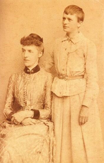 Ambrosia Tønnesen og Mary Banks levde saman i over 30 år.