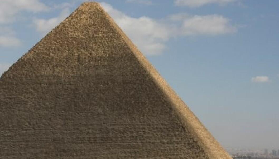 Khufus pyramide, bedre kjent som Kheopspyramiden. (Foto: Håvard Houen)