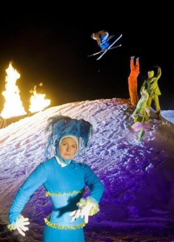 """Fra forestillingen """"Mot Himlaleite"""" - et arrangement i regi av Stavanger2008. (Foto: Stavanger2008/Vegard Breie)"""