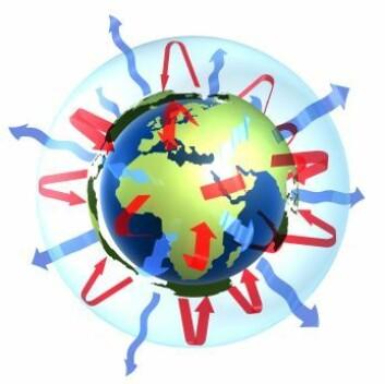 Vi mennesker har lenge sluppet store mengder aerosoler opp i atmosfæren. Reduserte utslipp kan gi økt global oppvarming. Foto: Shutterstock