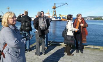 Befaring interessegruppe Kirkebugten. (Foto: NGI)