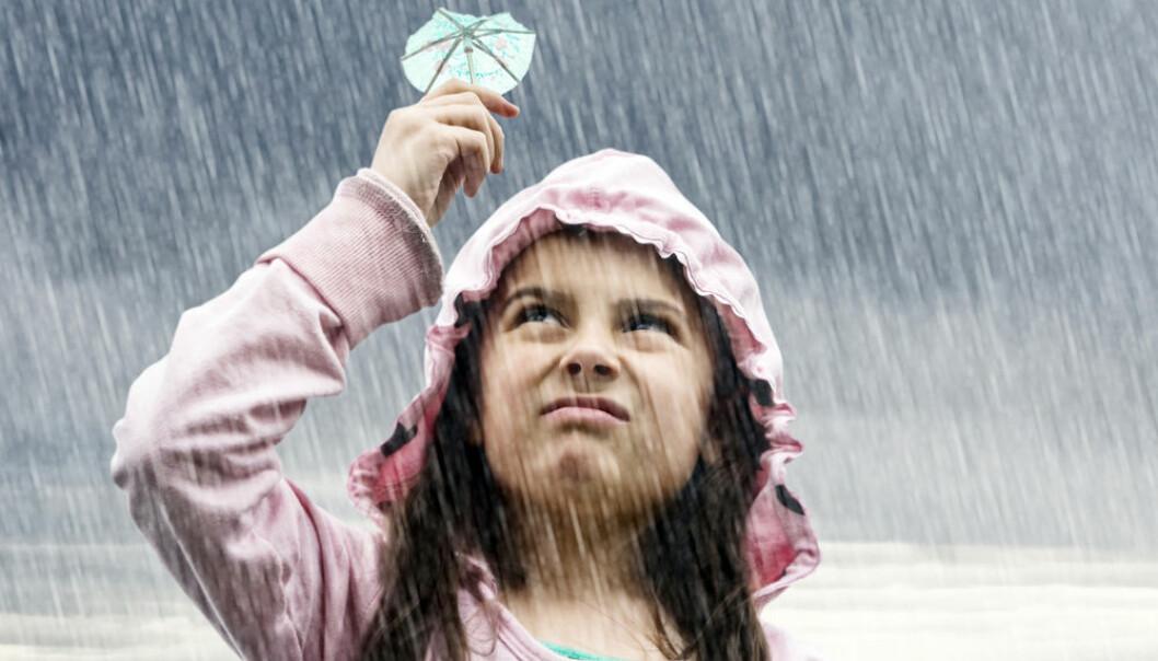 Klimaet i Norge blir våtere og varmere. Det vil påvirke strømprisen. (Foto: Shutterstock)