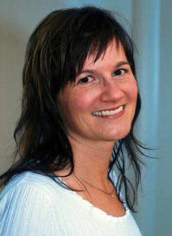 Amy Oen, leder av prosjektet Sediment og Samfunn. (Foto: NGI)