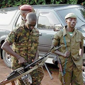 """""""Unge kongolesiske soldater. (Foto: Wikimedia Commons)"""""""