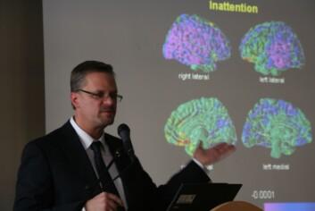 Professor Bradley Peterson leter etter sammenhenger mellom fysiske endringer i hjernen og psykiske lidelser. Foto: Elin Fugelsnes