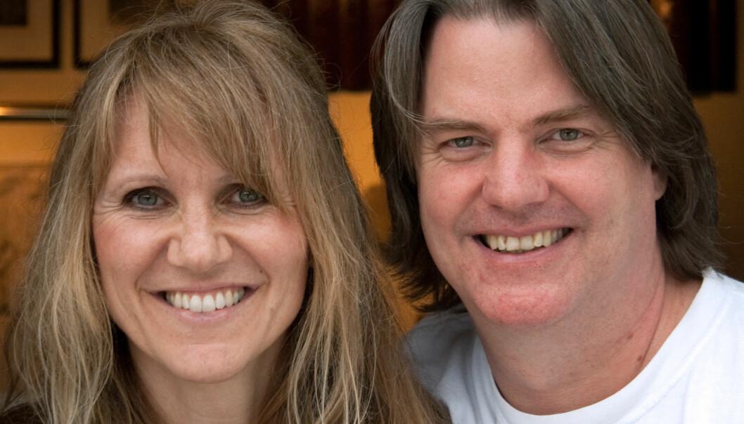 Merethe Frøyland og Jørn Hurum. (Foto: Ingrid Spilde)