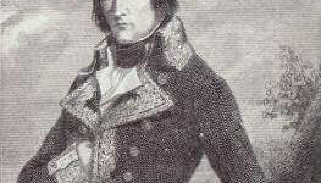 Napoleon med sin mage