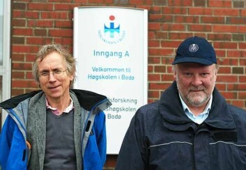 Statsviterne Ole Johan Andersen (t.v.) og Jon Pierre leder et forskningsprosjekt om strategiske regioner. (Foto: Andreas Høy Knudsen)