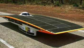 Verdens raskeste solcellebil i Oslo