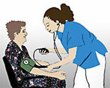 """Helsearbeidere var i """"de nye gruppene"""" som LO lenge var skeptiske til. (Ill.: Annica Thomsson)"""