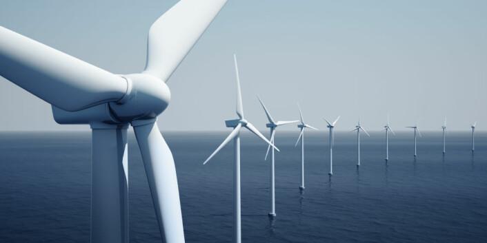 """""""For å få til en satsing på fornybar energi, som offshore-vindmøller, er vi avhengige av solide forskningsmiljøer også i fremtiden. (Illustrasjon: iStockphoto)"""""""