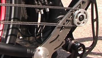 Kranken på Stringbike (Foto: Arnfinn Christensen, forskning.no)