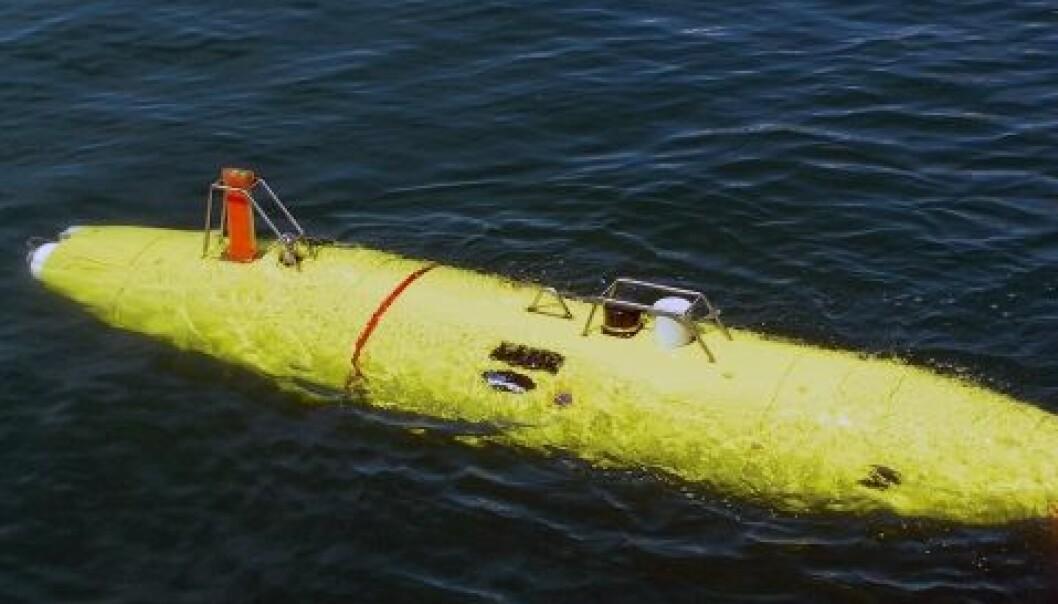 Undervannsteknologi fra Kongsberg. (Foto: Kongsberg Maritime)