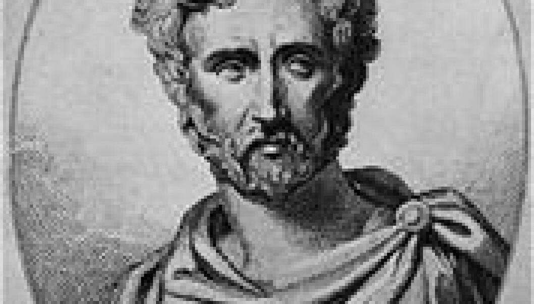 """""""Gaius Plinius Secundus, også kjent som Plinius den eldre, skrev om historie, natur, filosofi og fiskesaus."""""""