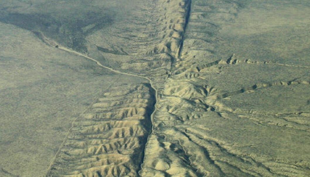 Kaotiske jordskjelv