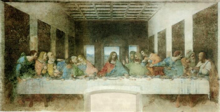 Leonardo da Vinci (1452-1519) startet på maleriet Nattverden i 1495 og avsluttet det i 1498. Malerietfinnes i klosteret Santa Maria delle Grazie i Milano.