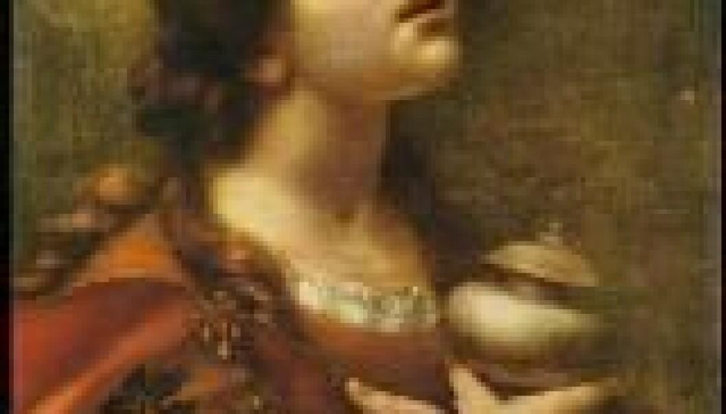 """""""Motettene har bibelske tekster. Her Maria Magdalena malt av Carlo Dolci"""""""