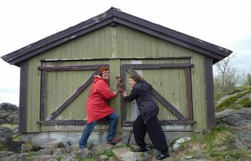 Tone Magnussen og Erika Søfting fra Nordlandsforskning.