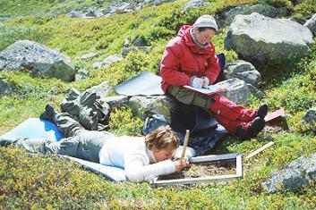 Marianne Evju (t.h.) saman med Synnøve Lindgren.