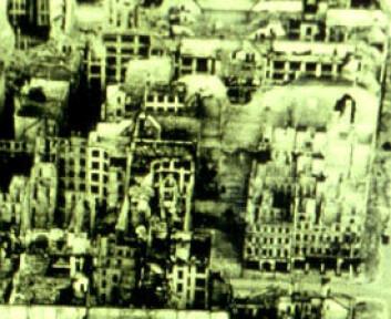 """""""Berlin - ødelagt etter krigen."""""""