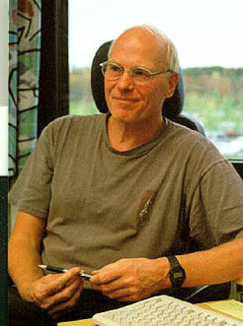 """""""Professor ved Institutt for matematikk og statistikk ved Universitetet i Tromsø, Ben Johnsen."""""""