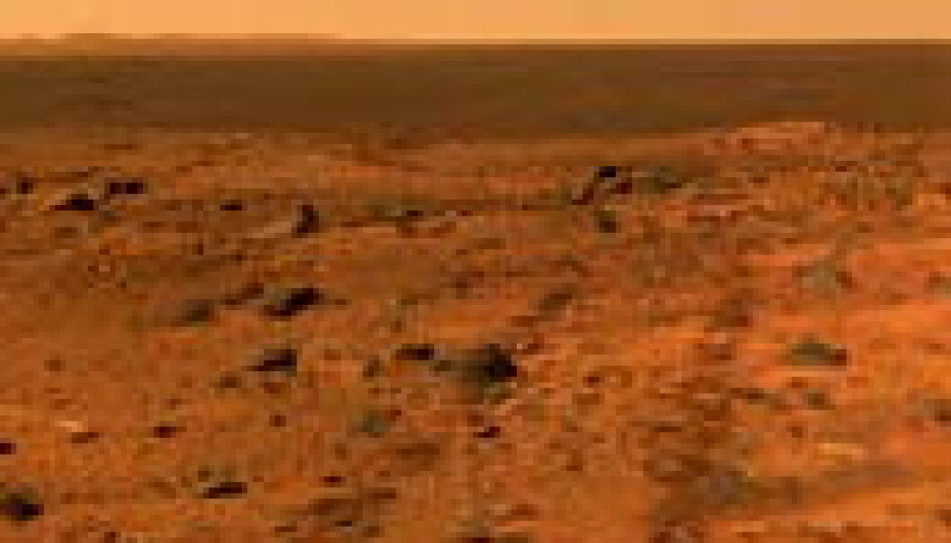 Standhaftige Mars-rovere feirer år