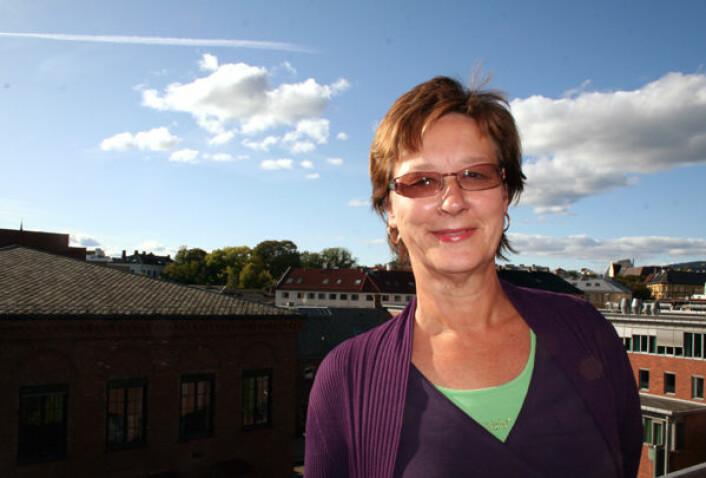 Måten vi puster på er viktig for hvordan vi fungerer følelsesmessig og kroppslig, sier førstelektor Kirsten Ekerholt ved Fysioterapiutdanningen ved Høgskolen i Oslo. (Foto: Asle Rønning)