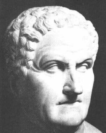 """Galenos lærte mye som gladiatorlege og dissektor."""