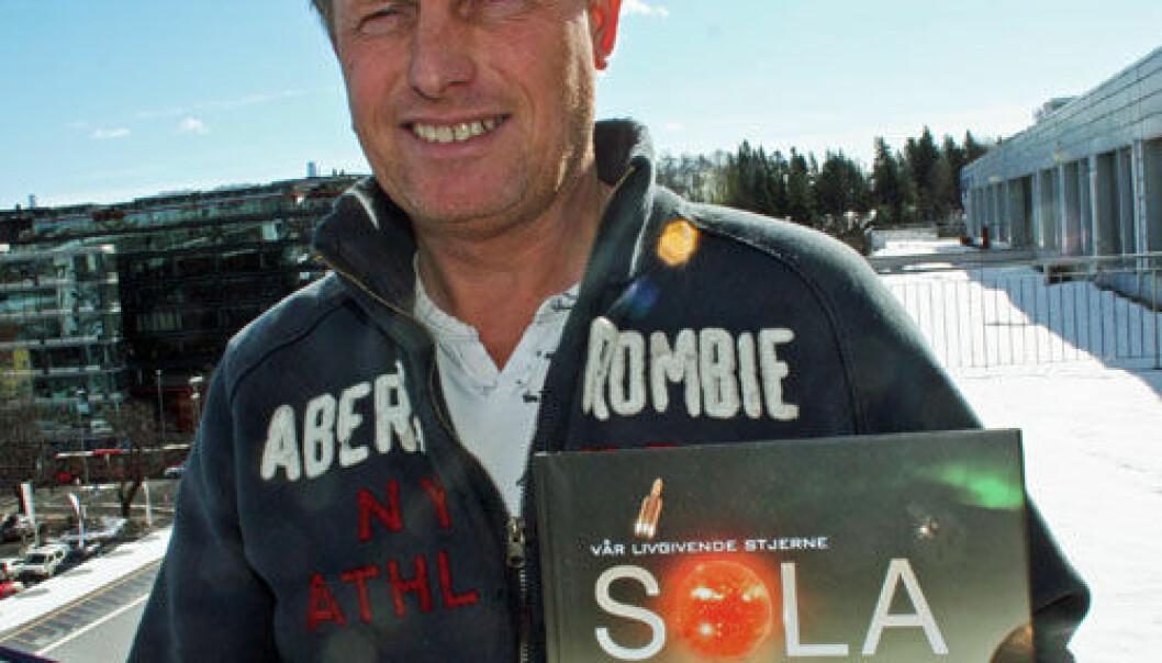 Solfysiker Pål Brekke. (Foto: Asle Rønning)