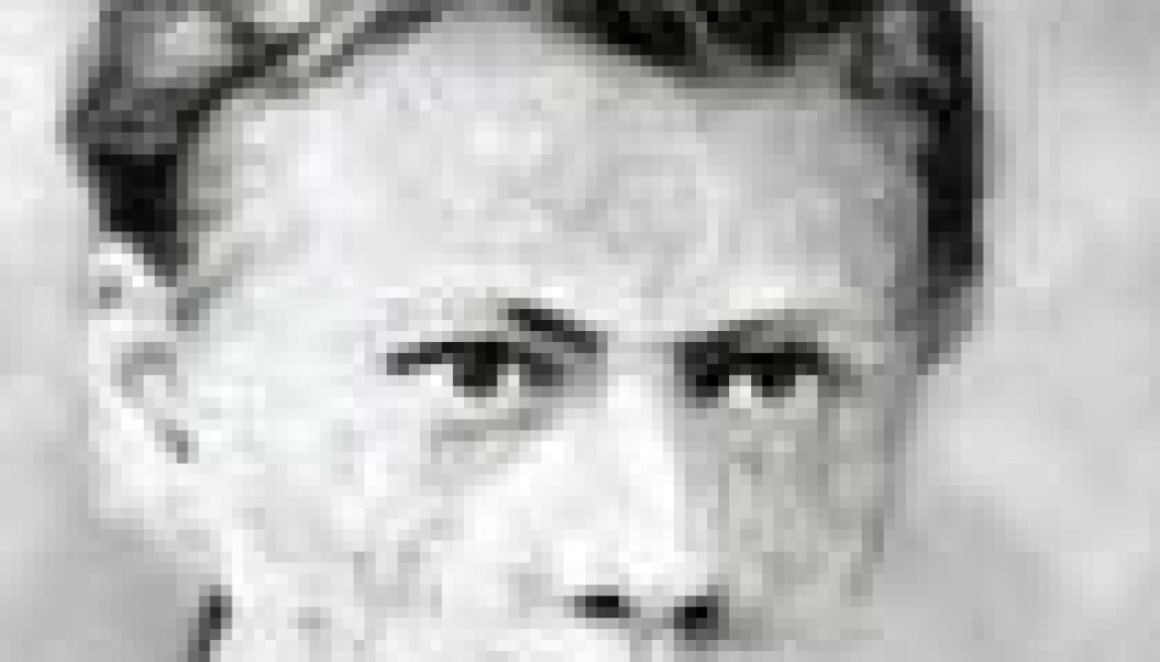 En ung Bjørnstjerne Bjørnson.