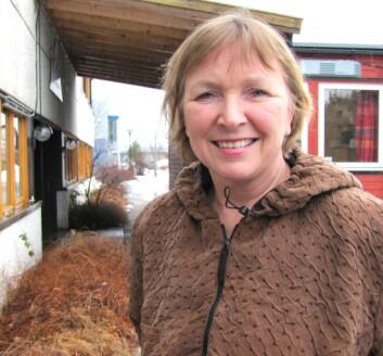 Guri Bitnes Wiik, høgskolelektor ved Høgskolen i Nord-Trøndelag. (Foto: Bjørnar Leknes)