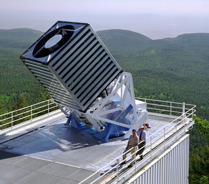 Sloan Digital Sky Survey Telescope (Foto: NASA)
