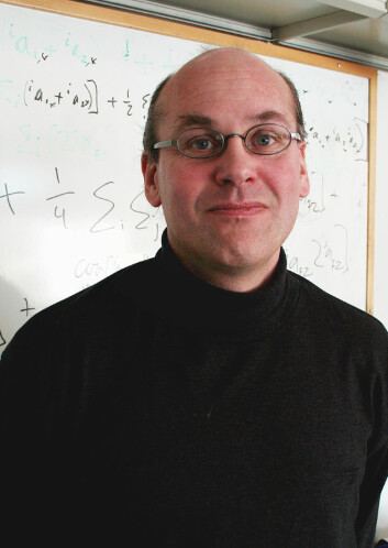 Professor Thomas F. Hansen ved UiO.(Foto: Asle Rønning)